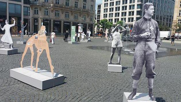 德國猶太運動員展覽被破壞