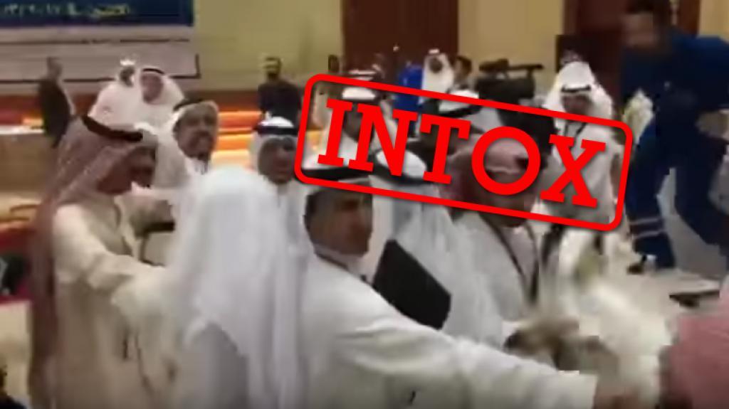 沙地卡達外交使團大打出手 被發現係舊片?