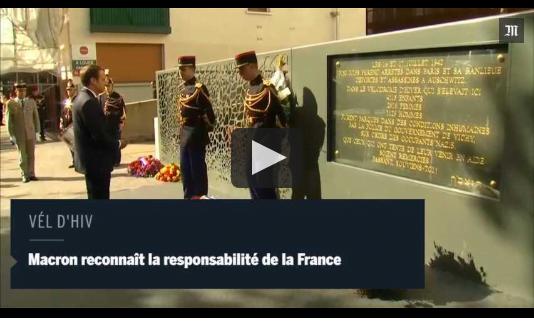 巴黎紀念圍捕猶太人慘劇 以色列總理令猶太人不安 極左不承認責任