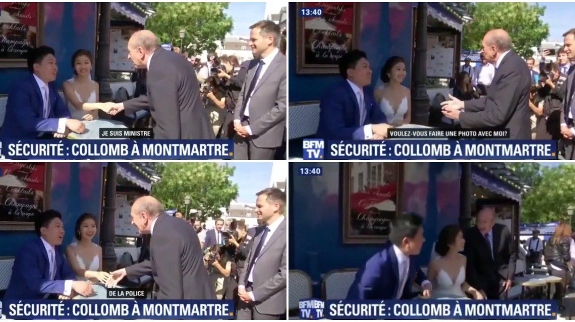 法國內相自稱警察部長 超odd 要求同大馬夫婦合照