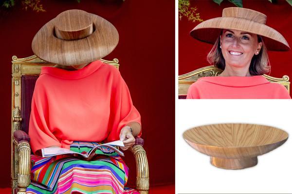 比利時王妃帽似木碟 姨媽傢俬都出po抽水賣廣告