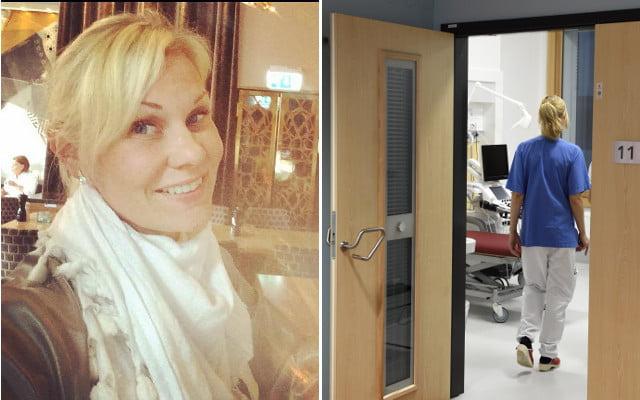 瑞典助產士貼「血照」控訴工作做唔停手