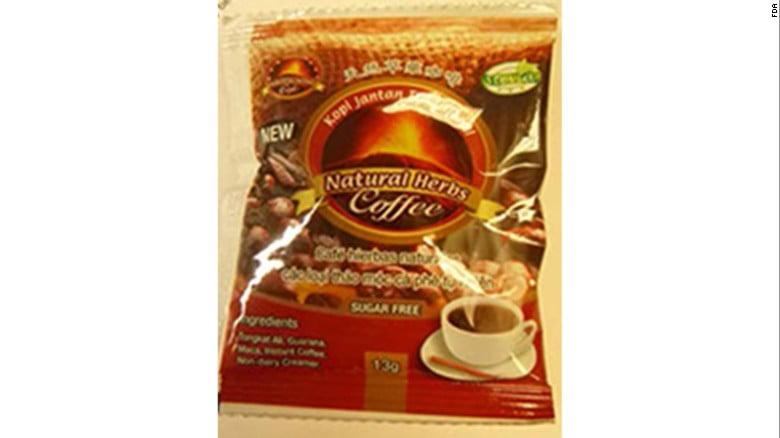 美國公司回收「偉哥」咖啡