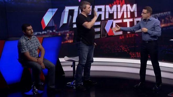 電視節目嘉賓不滿被突然要求講烏克蘭文離場惹爭議