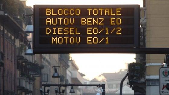 米蘭要司機減速控制空氣污染
