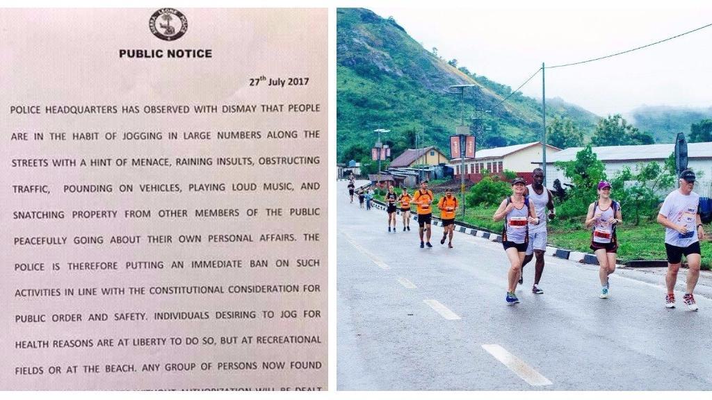 非洲獅子山 禁止集體跑街 理由多多?