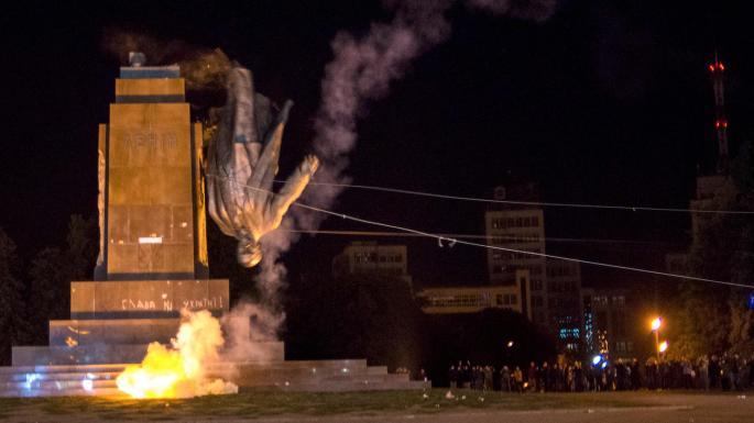 烏克蘭表示完全移除蘇聯時期嘅列寧像