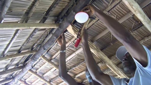 偏遠地方應用最新科技 非洲偏遠小鎮有光就有wifi?