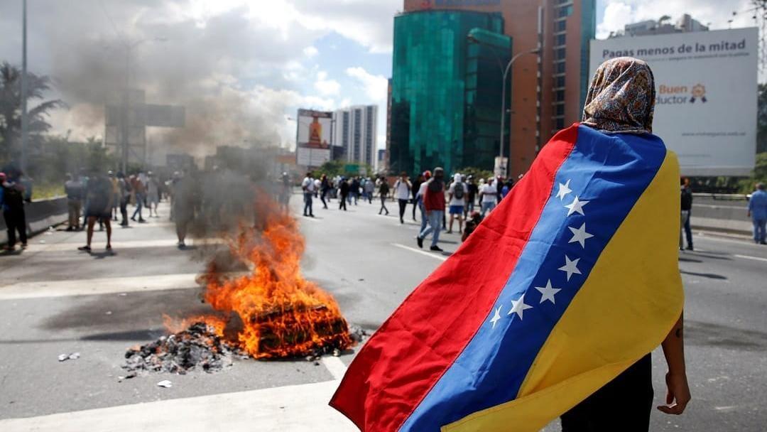 委內瑞拉「總統」馬杜羅雖然「宣誓連任」鄰國紛紛外交孤立