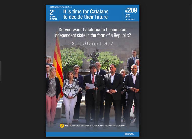 加泰獨立公投 海外公民可以投 西班牙境內無得投?