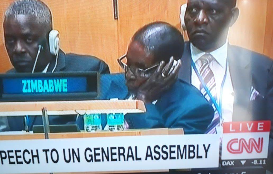 當勞侵聯合國演說 穆加貝到白宮幕僚長都悶到訓?