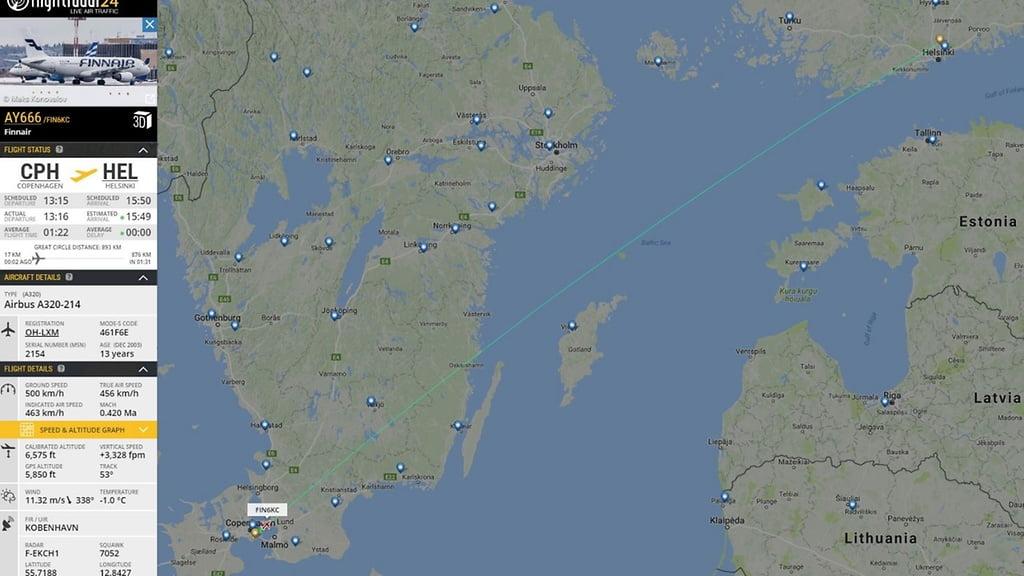 芬蘭航空最後黑色星期五嘅666班機 週五開動