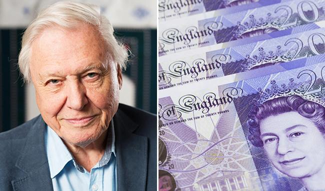 英民意調查 最多人支持印艾登布祿爵士上20鎊紙幣