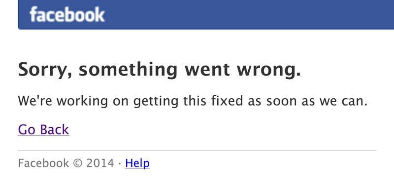 美警方表示:FB down機 報警都無用