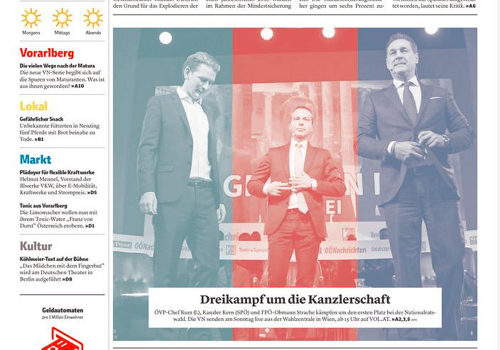 奧地利藍黨領袖最多最多嬲但最多like?