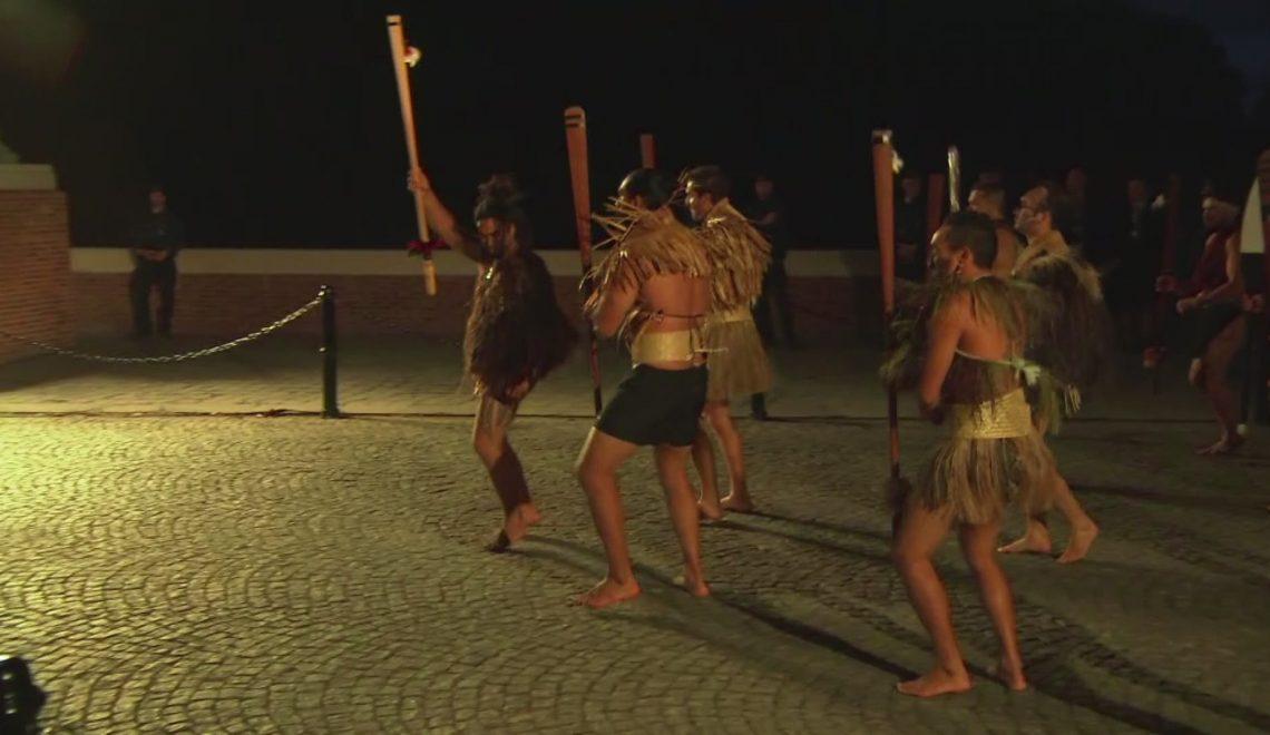 紐西蘭 Haka 殺到比利時 紀念一戰