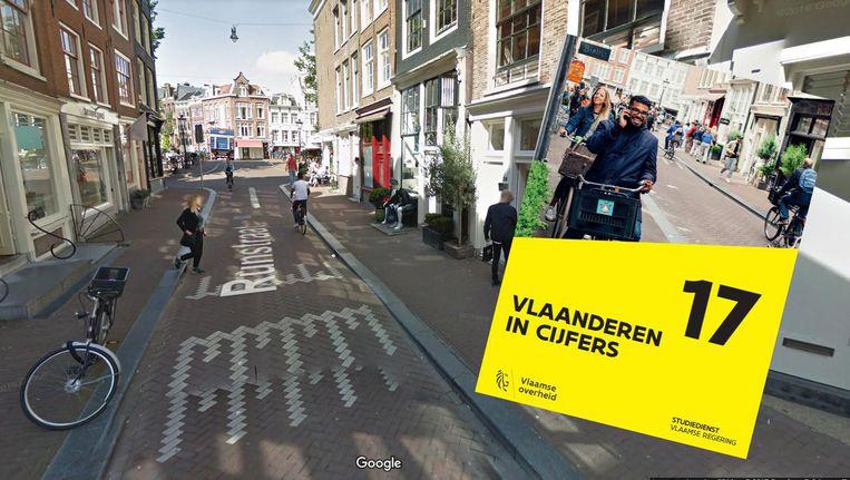 比利時政府報告封面用荷蘭街景?
