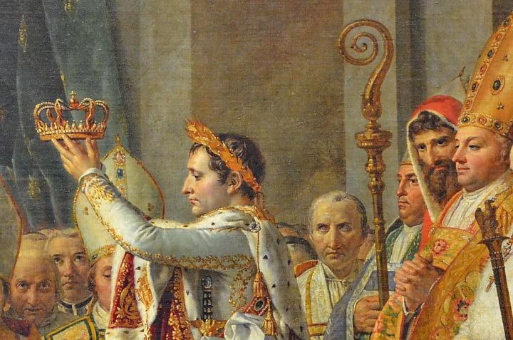 法國天價拍賣 拿破崙皇冠頂金葉