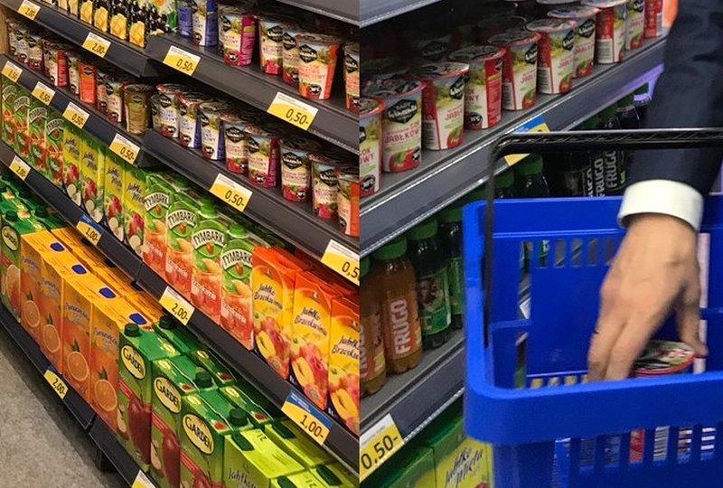 波蘭副總理shopping 懷疑超市價錢造假?