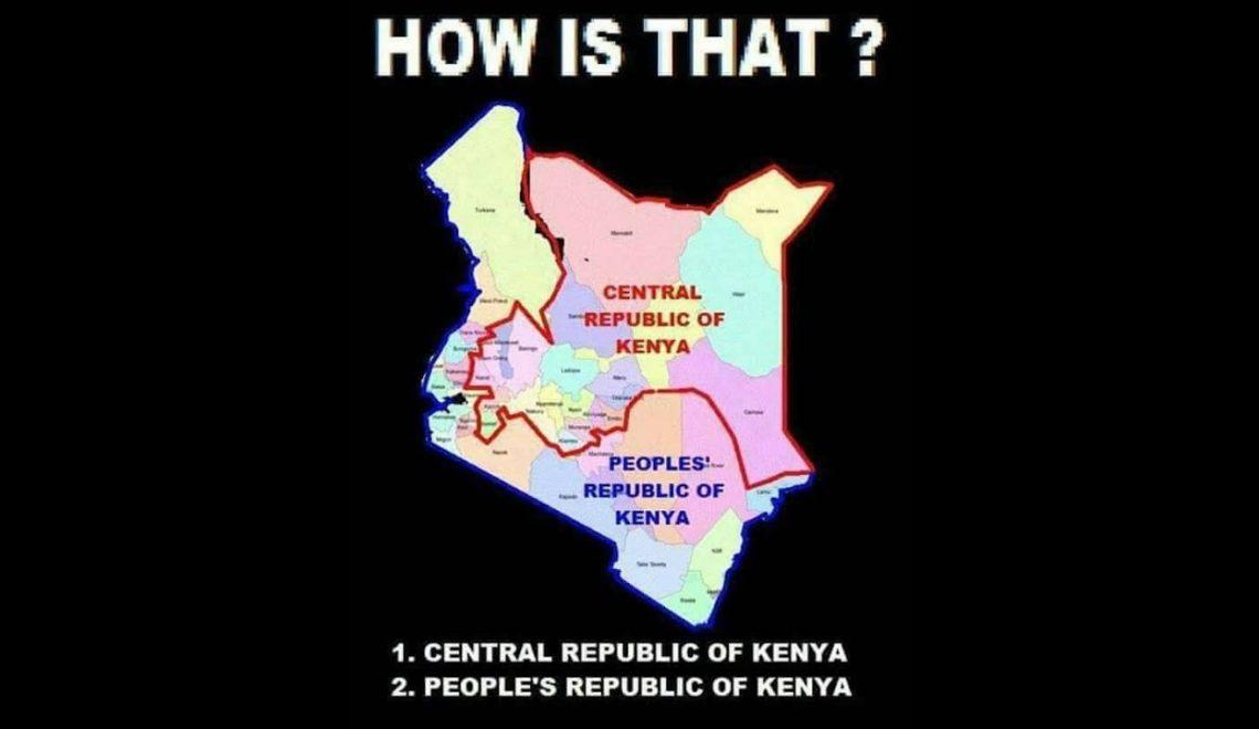 肯雅議員離奇建議 首都外獨立另組「人民共和國」