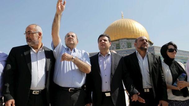 阿拉伯裔議員:寧死不唱以色列國歌