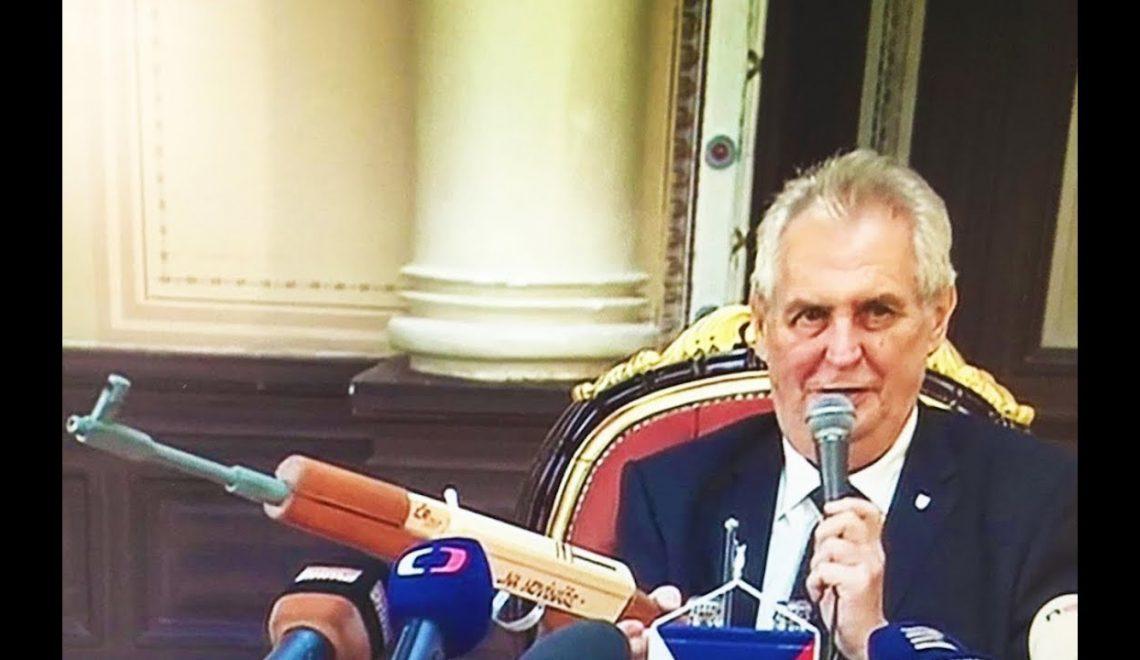 捷克總統表示跟單侵承認以色列首都 歐盟成鼻芥辣