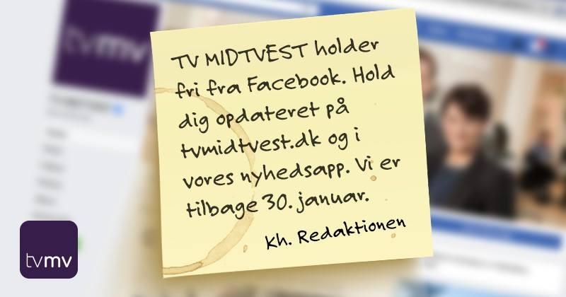 丹麥電視台嘗試唔update FB page 兩個禮拜 希望用戶定期訪問網站有新習慣?