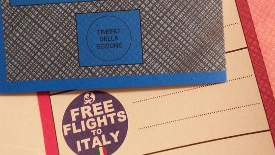 義大利大選選票驚現「免費飛機票黨」?