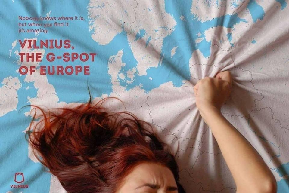 立陶宛廣告表示 自己首都係歐洲G點?