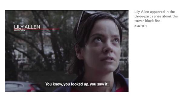 菅浮大廈紀綠片被揭發係露西亞布丁喉舌出自製作?