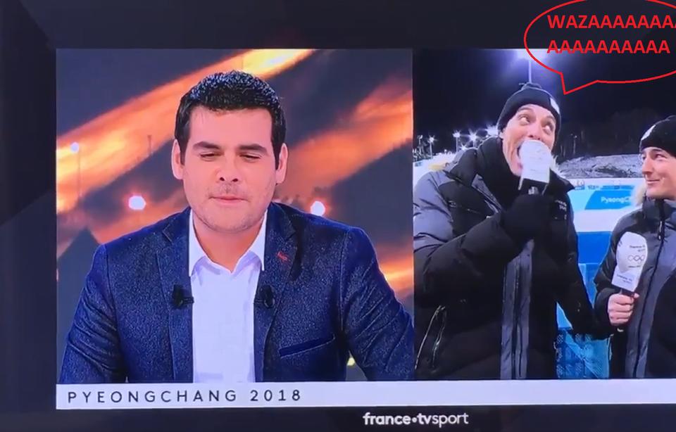 法國記者以為未上鏡 「eeeeeaaaaaa」盧海鵬試咪 慘遭恥笑