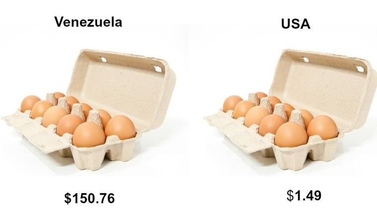 委內瑞拉新工廣告 用每個月144隻蛋做花紅做招攬?