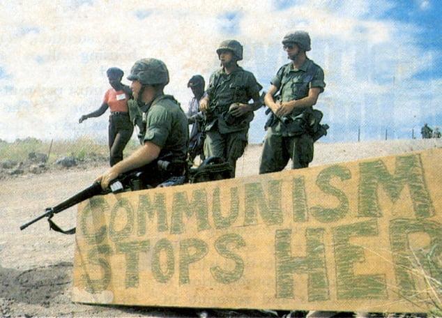 工黨領袖除咗共產間諜外 仲幫保守黨調查加勒比俾美帝入侵?