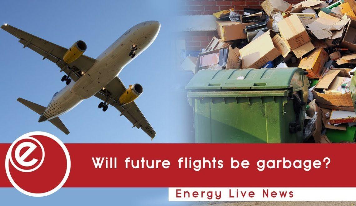 未來飛機燃料 全部可以從垃圾循環再造?