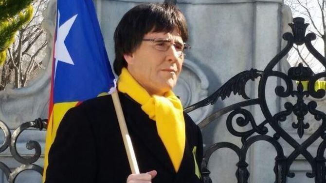 西班牙喜劇演員 扮加泰政府主席 被鄰居報警?