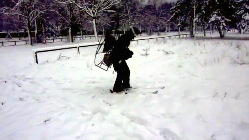 巴黎奇人 用螺旋槳驅動滑雪 力都唔使70公里時速?