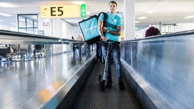 荷京國際機場搞到禁區都可以叫「袋鼠牌」外賣?