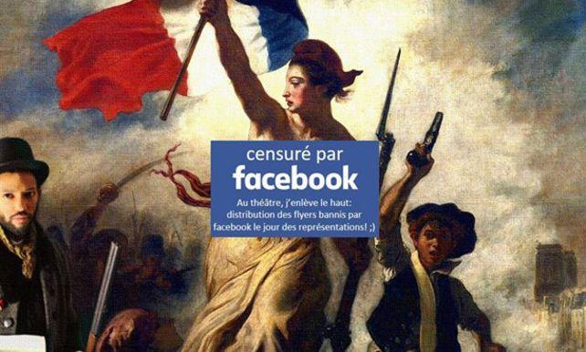 法國名畫當露體內容 FB 最後要跪低道歉?