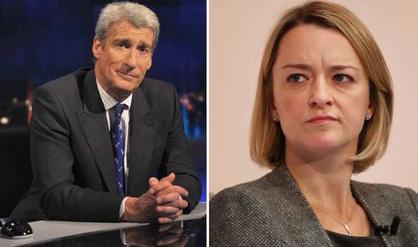 BBC首席政治編輯官冰娜牛津開講 俾老前輩窒到暈?