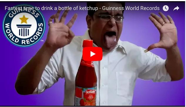 印度男破世界紀錄 係靠吸茄汁