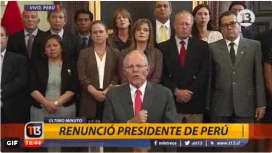 秘魯藤森家族內戰 導致總統古辛斯基中箭落馬 被迫辭職