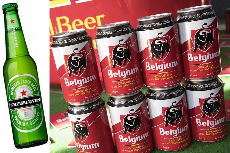 為支持世界杯國家隊  Jupiler 啤酒臨時改名「比利時」