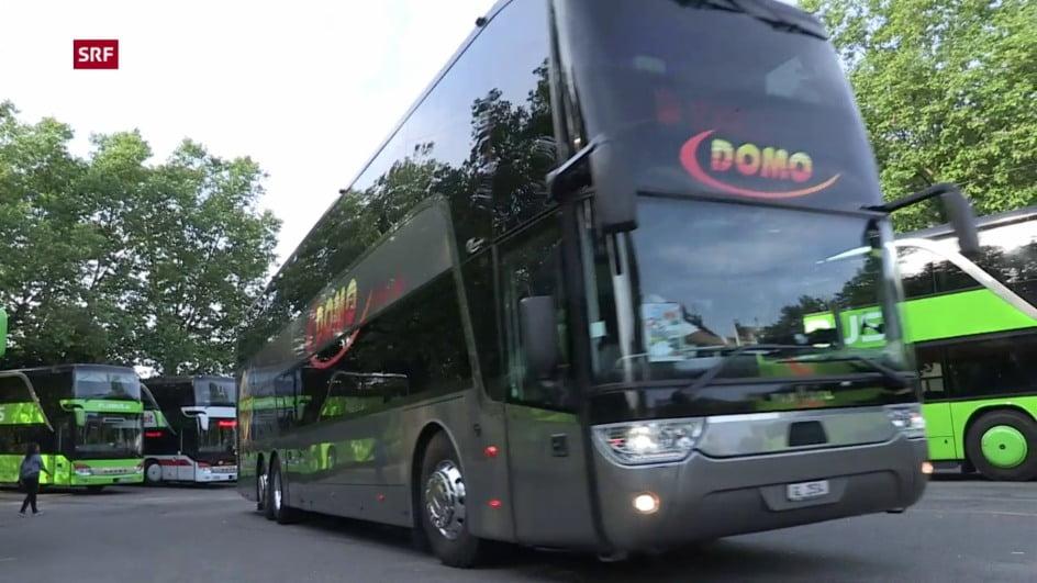 瑞士聯邦政府批出長途廉價巴士網路服務