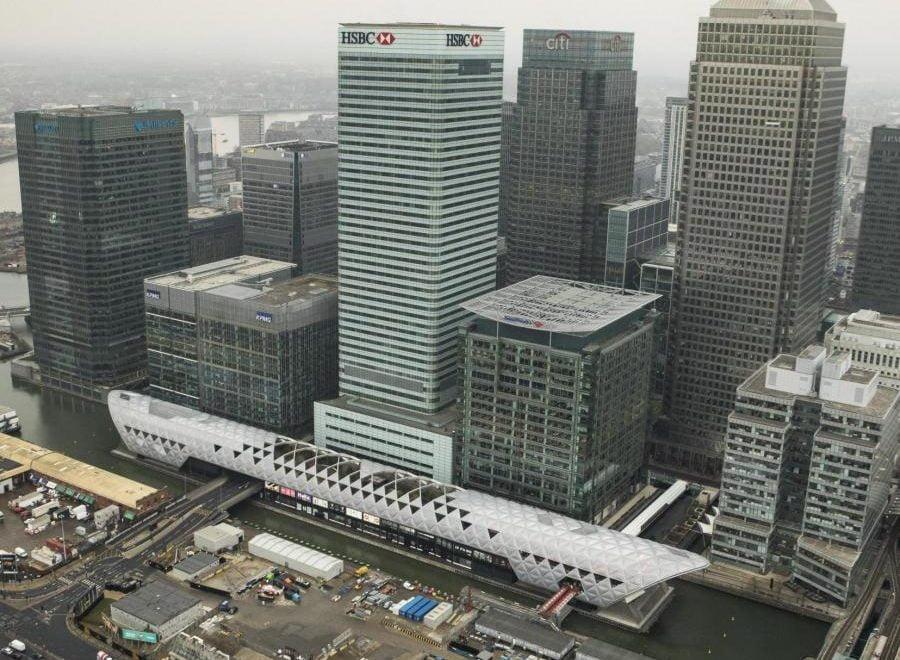 倫敦叉鐵巨型新站 陸續現形