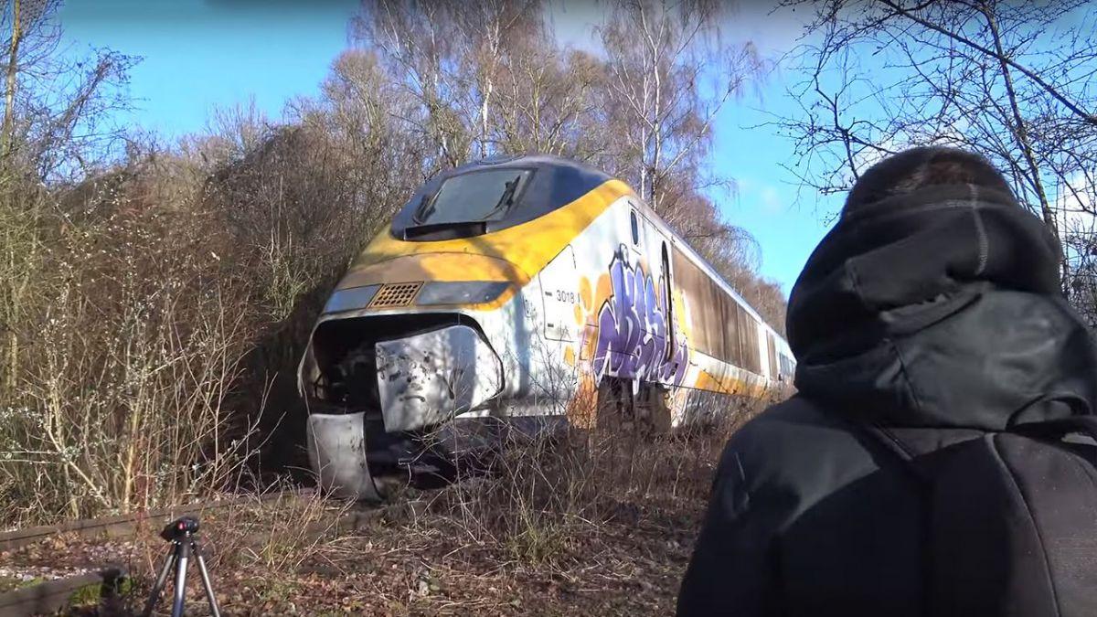 法比邊境有架歐洲之星列車 淪為廢墟攝影聖地?