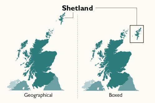 蘇格蘭離島要求立法 唔准地圖再將佢地放入「黑盒」?