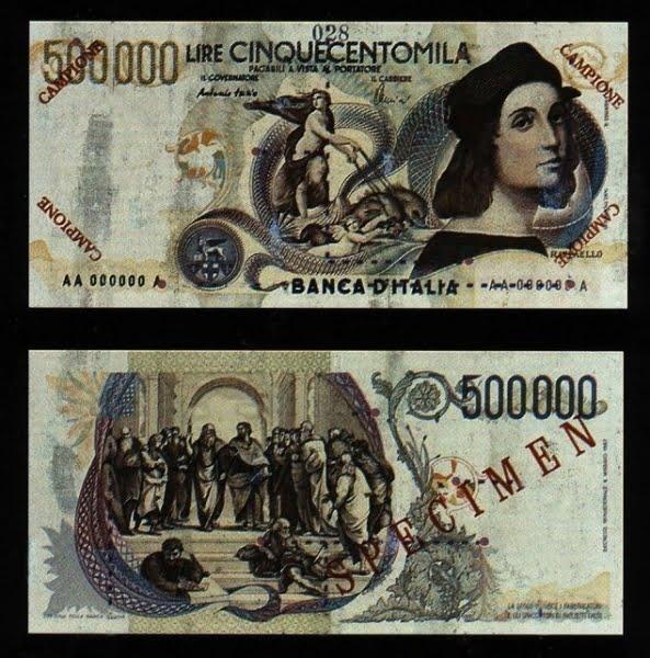 義大利banker 拿出祖父保險箱30億里拉紙幣 去兌換點知價值…………