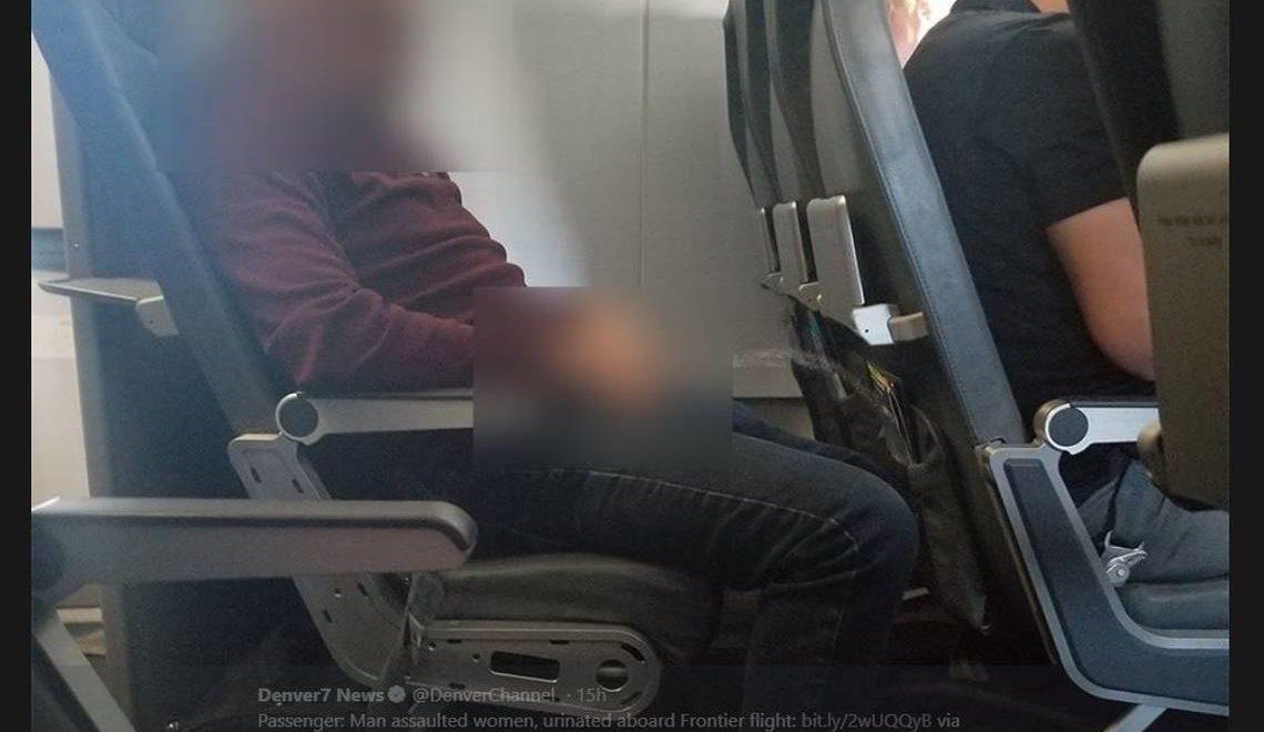 美帝醉酒乘客突然對前座放尿 嚇到現場尖叫