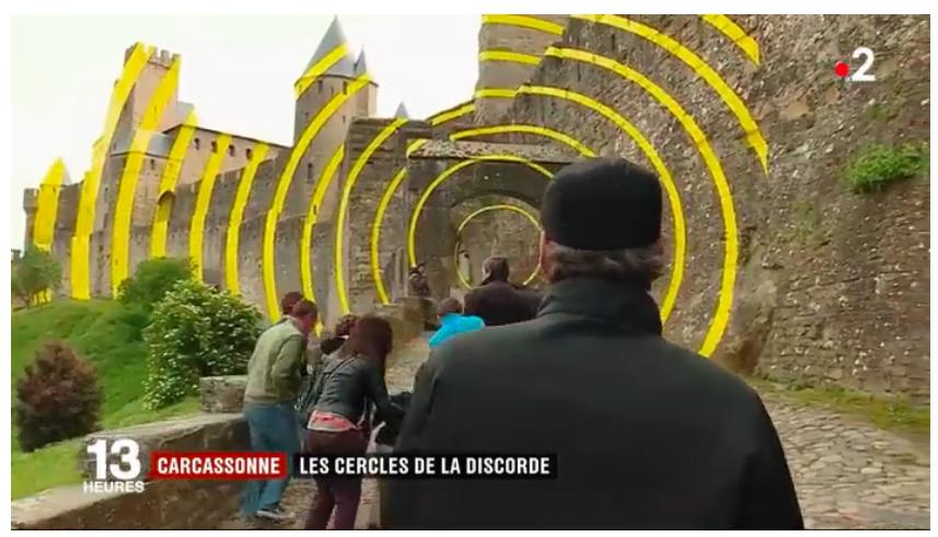 法國城堡突然出現「一個個黃圈」市民頂唔順要連署抹咗佢?