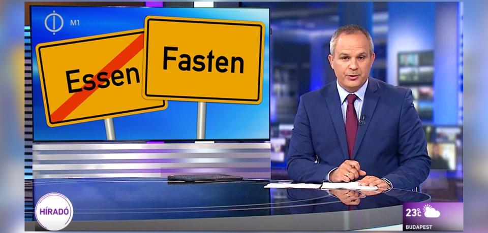 德國「食嘢城」被假新聞恥笑改名做「齋戒城」 匈牙利公視當真新聞報